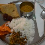 Ayurvedische vegi maaltijd