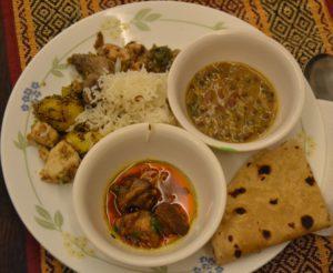 ayurvedische maaltijd
