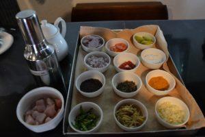 kruiden bij ayurvedisch gerecht